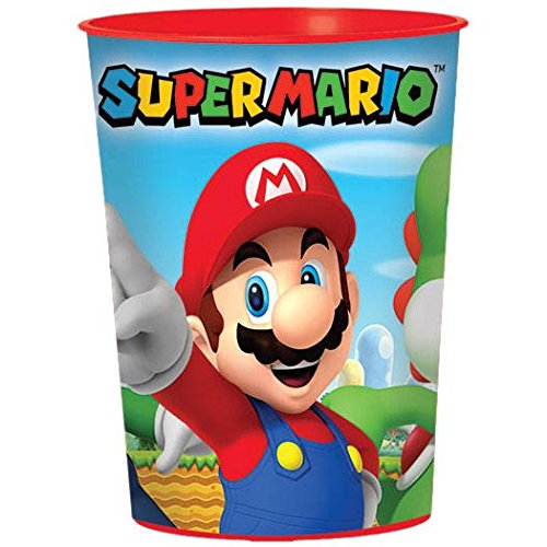 Super Mario Party Birthday Supplies 24 Pack Favor Cups (Luigi Party Invitations)