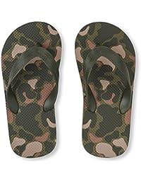 Kids' BB Camo FF Flat Sandal