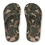 The Children's Place Kids' BB Camo FF Flat Sandal