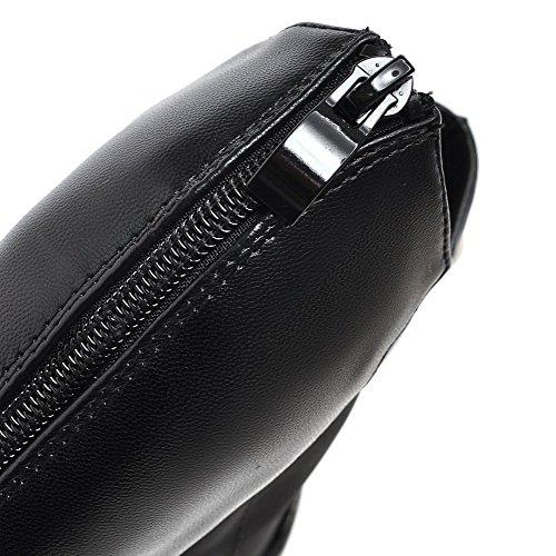 Noir fermeture à toe Sandales VogueZone009 talons pour hauts peep à glissière femmes à q4HEn7