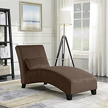 Amazon.com: Belleze Chaise Lounge Indoor Furniture Living Room Chair ...