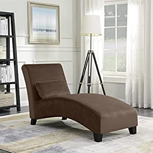 Belleze Chaise Lounge Indoor Furniture Living Room Chair Contemporary Sofa Couch Hardwood Legs