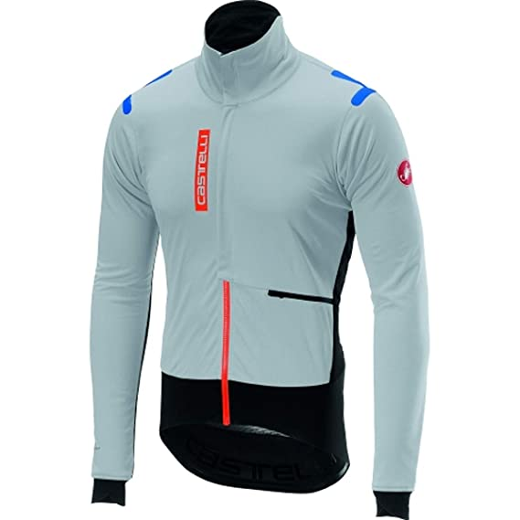 Amazon.com : Castelli 2017/18 Mens Alpha ROS Cycling Jacket ...