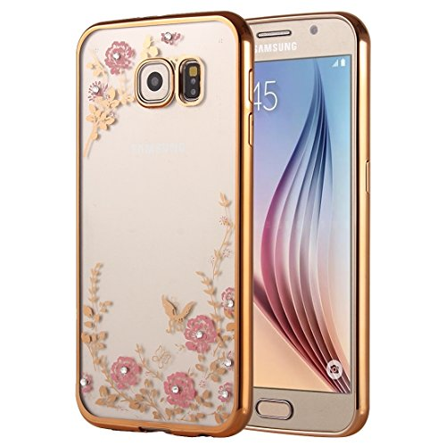 XIANGBAO-Classic Case for Samsung Galaxy A9(2016) / A900 Flowers Patterns Electroplating Soft TPU Protective Cover Case (SKU : SCS2610C)