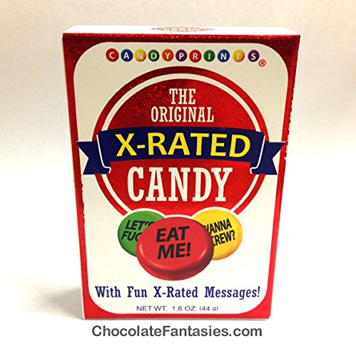 X Rated Candy, the Original From Candyprints, Valentine's Day or Any Day ()