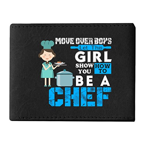 I'm A Chef Men's Wallets, How To Be A Chef Wallets For Men (Men's Wallets - Black)