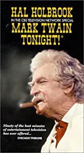 Mark Twain Tonight [VHS]