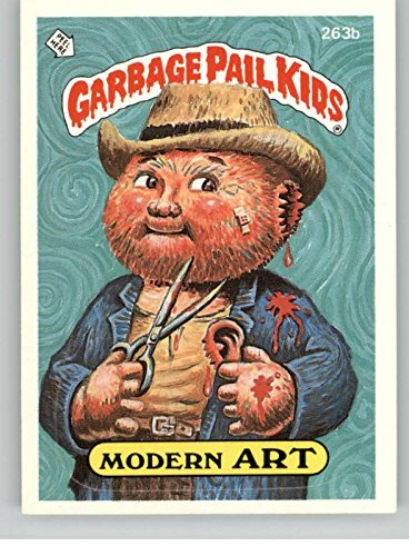 1987 Garbage Pail Kids Series 7 #263b Modern Art ** On Back by Topps