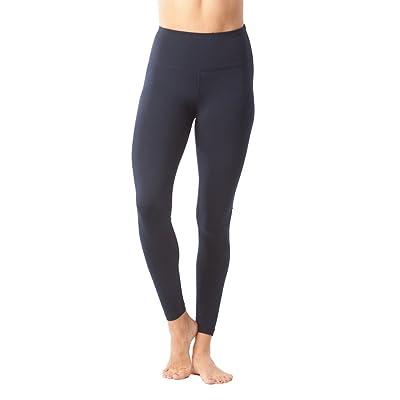 90 Degree By Reflex High Waist Power Flex Legging – Tummy Control - Stormy Night - XL