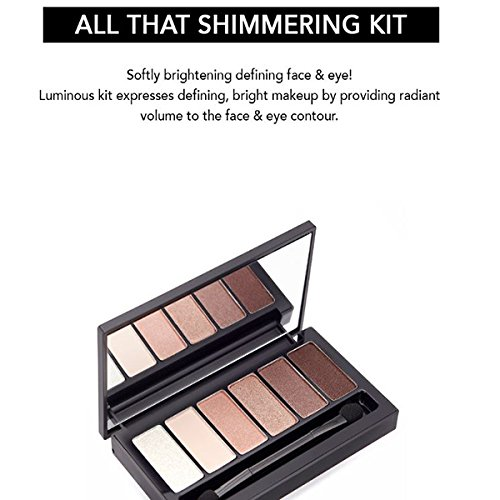 Son&Park All That Shimmering Kit Eye Shadow Pallet, 5 Count