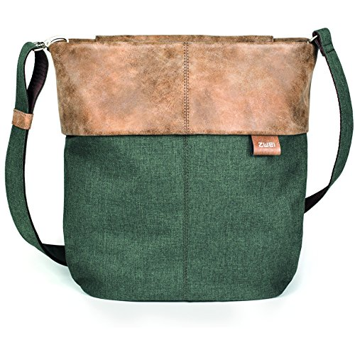 Zwei - Crossed Bag For Green Woman Green Olive