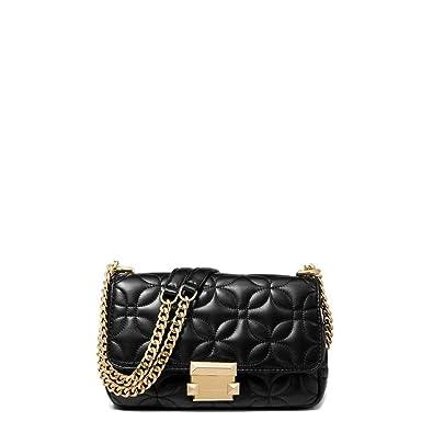 241a6552b5 Borse a spalla Donna Nero (30H8GSLL1T) - Michael Kors: Amazon.co.uk ...