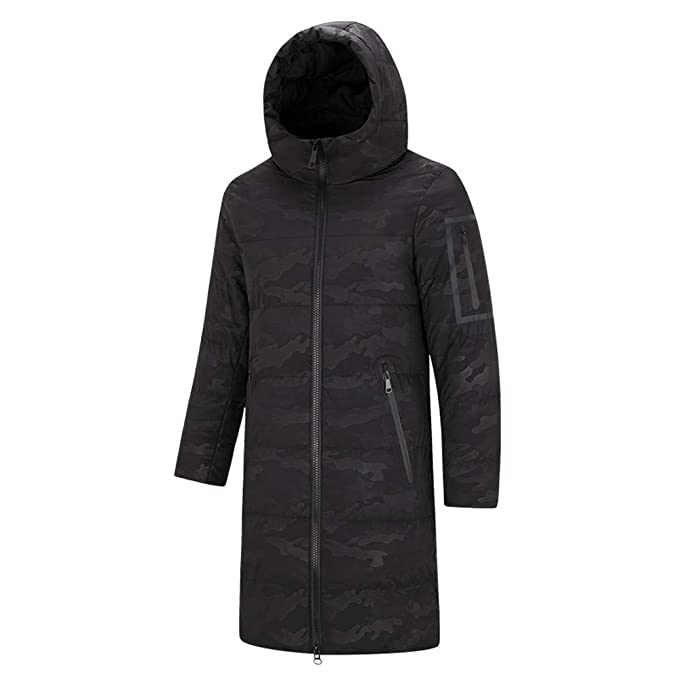 Amazon.com: MODOQO Puffer Parka Down Coat - Chaqueta de ...