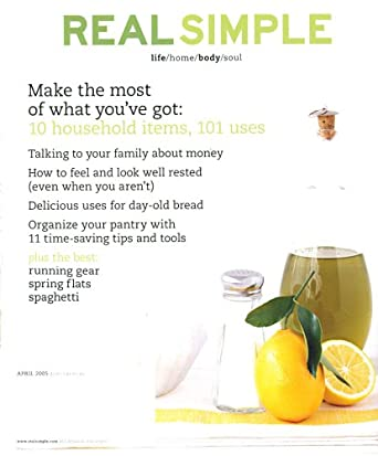 Real Simple: Amazon.com: Magazines