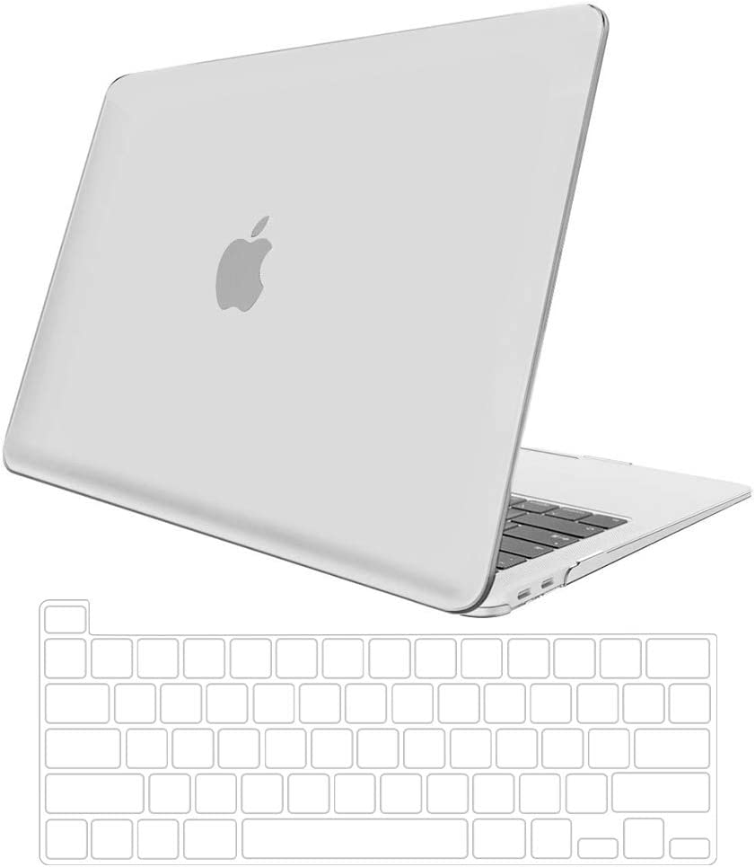 2020 Macbook Pro 13 A2289//A2251, Crystal Black TOWOOZ MacBook Pro 13 inch Case 2020 A2251 A2289 2020 MacBook Pro 13 A2289//A2251 Plastic Hard Shell Case /& Keyboard Cover Only Compatible with MacBook 2020 A2251 A2289 Transparent