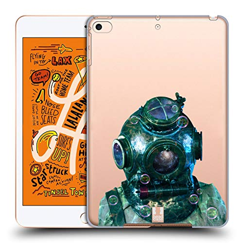 Head Case Designs Diving Helmet Into The Deep Hard Back Case Compatible for iPad Mini ()
