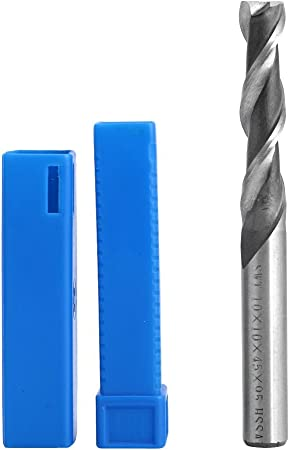 Extra Long 10*10*45*95mm 3Flute HSS /& Aluminium End Mill Cutter CNC Bit Extended