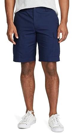 4d3fa854a8 Chaps Men's Big & Tall Classic-Fit Ripstop Cargo Shorts (Newport Navy, ...