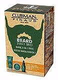 Clubman Beard 3 Piece Kit (Beard Conditioner Balm & Oil)