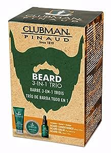 Clubman Beard 3 Piece Kit (1pcs each of Beard Conditioner, Balm & Oil), 3pc - Kit