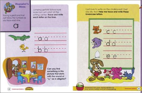 JumpStart Kindergarten Lowercase Letters Workbook: Liane Onish ...