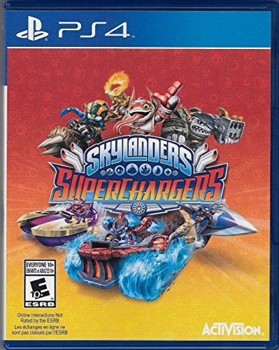 Skylanders Superchargers Standalone Game Only for PS4