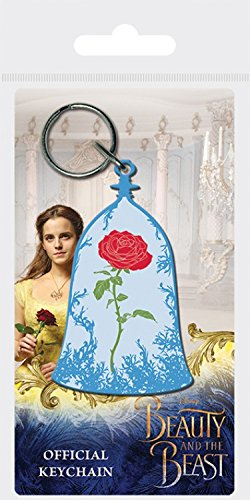1art1® La Bella Y La Bestia - Movie, Enchanted Rose Llavero ...