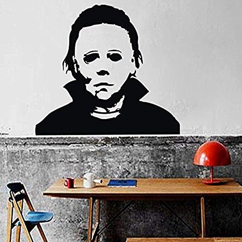 Michael Myers Wall Decal Halloween Wall Sticker Vinyl Wall Graphic Wall Mural Home Art Decor
