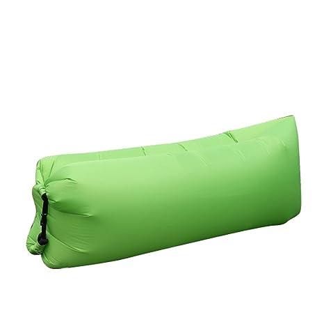 Vobaga inflable tumbona sofá sofá de aire Sillón de aire saco de dormir portátil impermeable bolsa