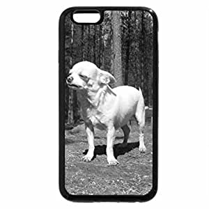 iPhone 6S Plus Case, iPhone 6 Plus Case (Black & White) - mexican wolf