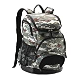 Speedo Printed Teamster 35L Backpack, Camo/Brn/Bge, 1SZ