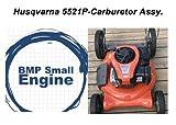 BMotorParts Carburetor Carb Assembly for Husqvarna 5521P 961330018 Push Mower