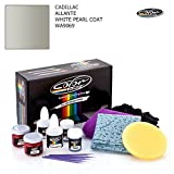 CADILLAC ALLANTE / WHITE PEARL COAT - WA9069 / COLOR N DRIVE TOUCH UP PAINT SYSTEM FOR PAINT CHIPS AND SCRATCHES / BASIC PACK