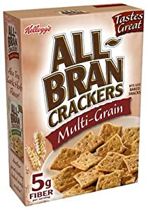 All-Bran Crackers, Muti-Grain, 10-Ounce Boxes (Pack of 12)