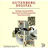 - Gutenberg digital. 2 CD- ROMs für Windows 95/98/NT und Mac/PowerMac ab 7.x
