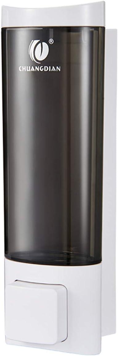 BBX Lephsnt Shower Soap Dispenser Wall Mounted Adhesive Lotion Dispenser, 200ml(6.8 Oz)