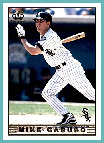 1999 Pacific Crown Collection #65 Mike Caruso chicago white sox (Caruso Collection)