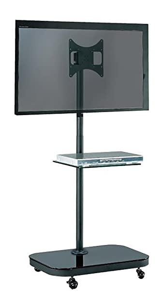Allcam FS940 37 Portable Flat Panel Floor Stand Black Socket D ...