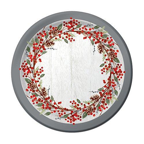 Creative Converting Sturdy Plates Winters
