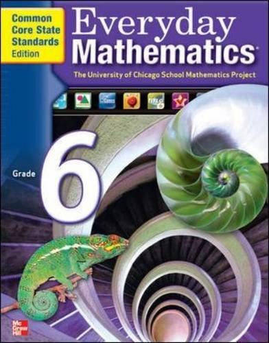 Everyday Mathematics, Grade 6, Skills Links Student Edition (EVERYDAY MATH SKILLS LINKS)