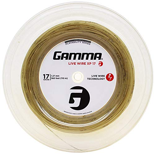 Gamma Sports Live Wire 17g String Reel - Natural ()
