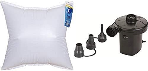 Duck Covers Duck Dome Airbag, 36 L x 36 W with Duck Dome Airbags Electric Air Pump