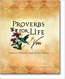 Proverbs For Life For You Michael J Foster Zondervan Bible Publishers 9780310801801 Amazon Com Books