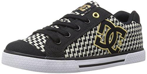 DC Frauen Chelsea TX SE Sneaker Schwarzes Gold