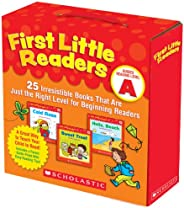 First Little Readers Parent Pack: Guided Reading Level A: 25 Irresistible Books That Are Just the Right Level