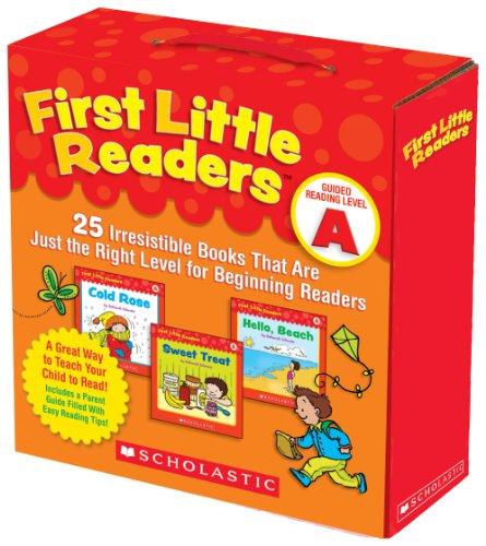 First Little Readers Parent Pack: Guided Reading Level A: 25 Irresistible Books That Are Just the Right Level for Beginning Readers