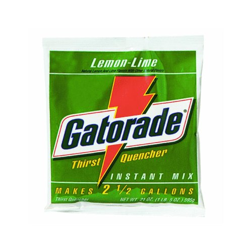 (Gatorade 03969 Gatorade Mix Pouches,Makes 2-1/2 Gal, 21 oz., Lemon)