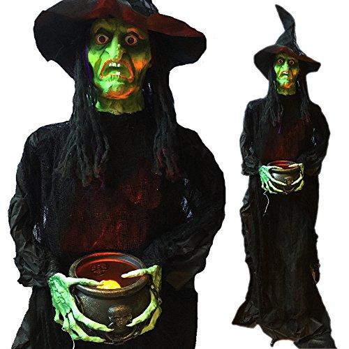 Hallo (Halloween Witch Animated)