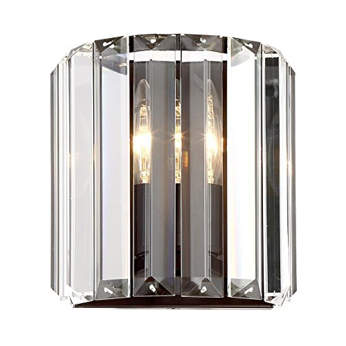 Quoizel Valentina 1-Light 7.13-in Bronze Vanity Light ()