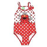 Sesame Street Elmo Girls Swimwear Swimsuit (Baby/Toddler)